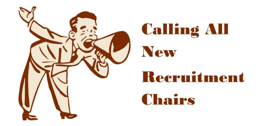 calling new rec chairs
