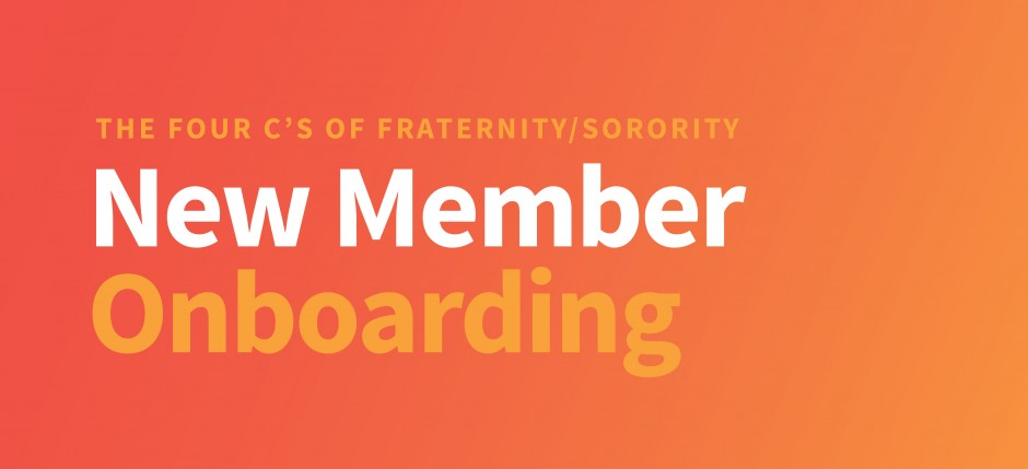 New Member On-Boarding