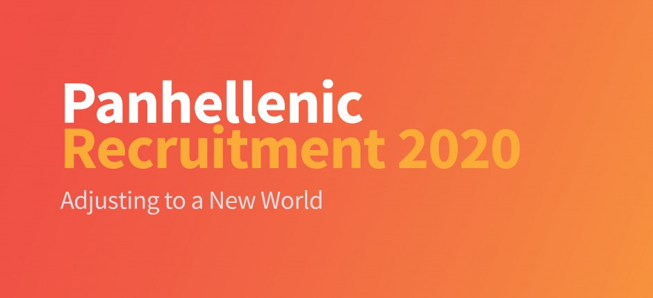 Panhellenic Recruitment 2020