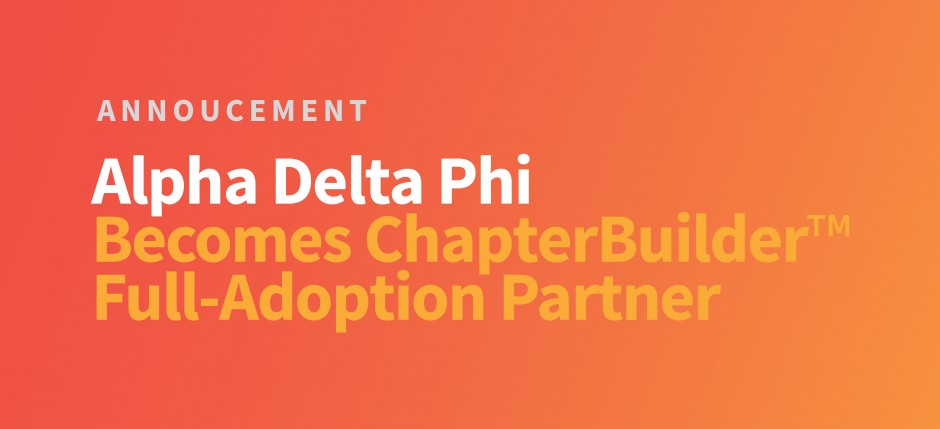 Alpha Delta Phi Announcement