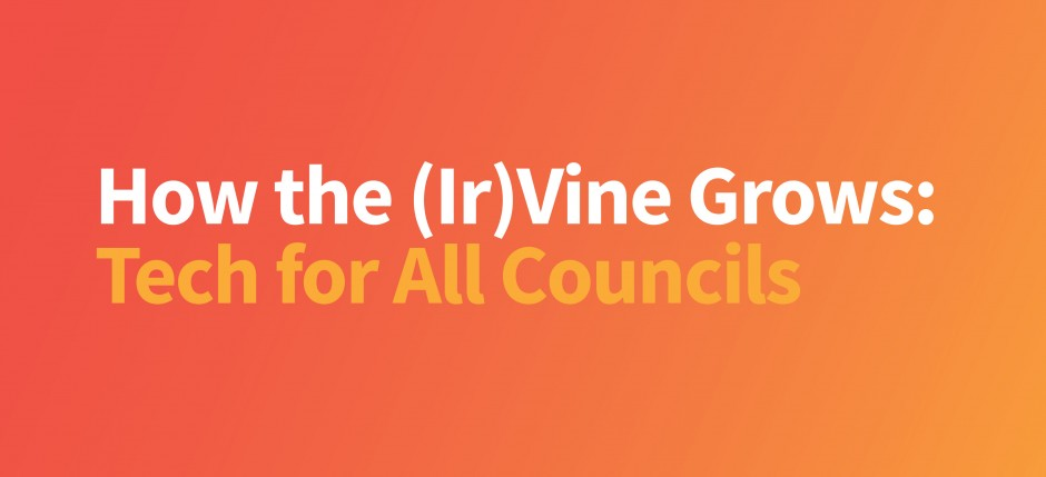 How the Ir(Vine) Grows
